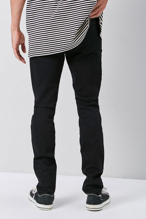 Embroidered Graphic Skinny Jeans, image 4