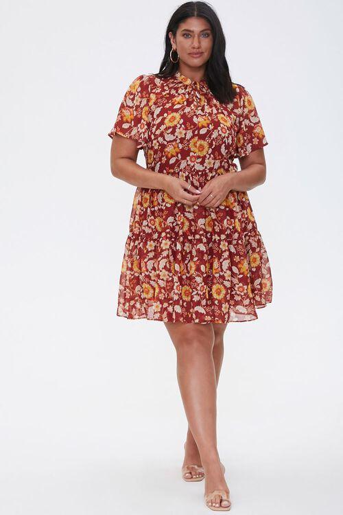 Plus Size Floral Dress, image 4