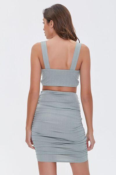 Women\u2019s grey and black two piece set
