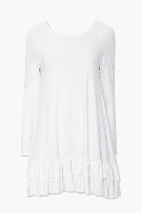 Ruffled Layered-Hem Dress, image 1