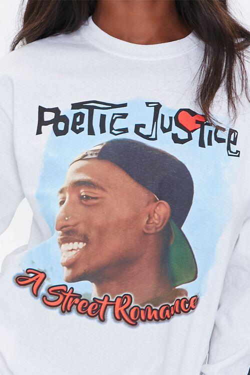 Tupac Graphic Long Sleeve Tee, image 5