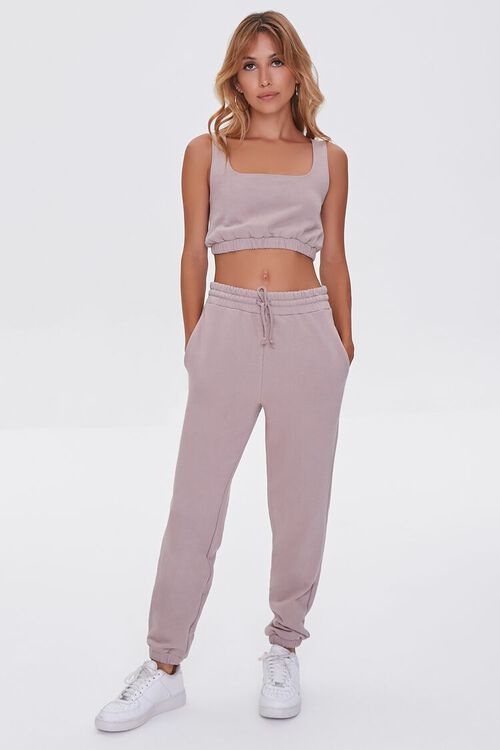 French Terry Crop Top, image 4