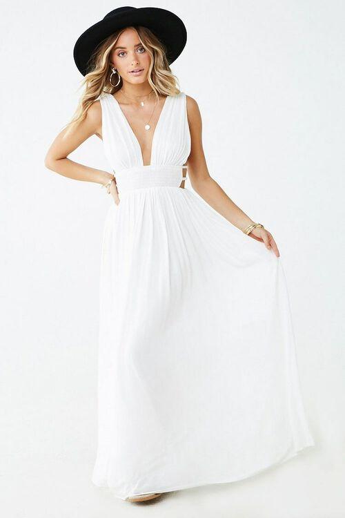 Plunging Maxi Dress, image 4