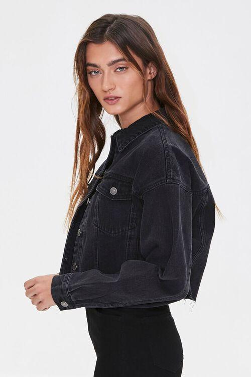 Cropped Denim Jacket, image 2