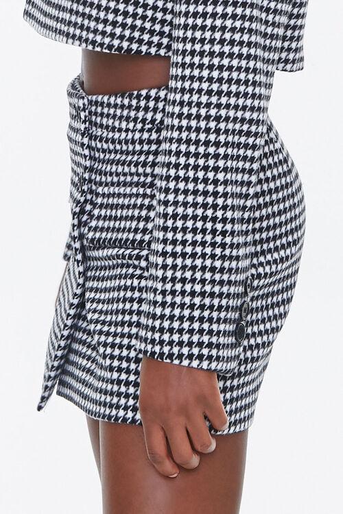 Houndstooth Mini Skirt, image 3