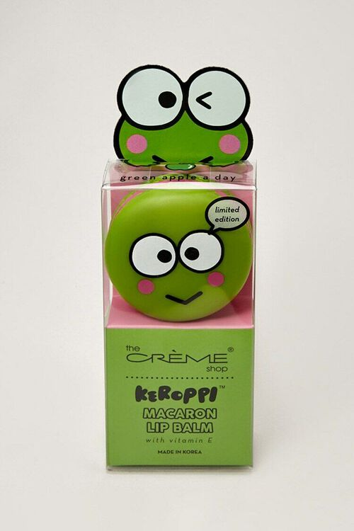 GREEN Keroppi Macaron Lip Balm, image 4