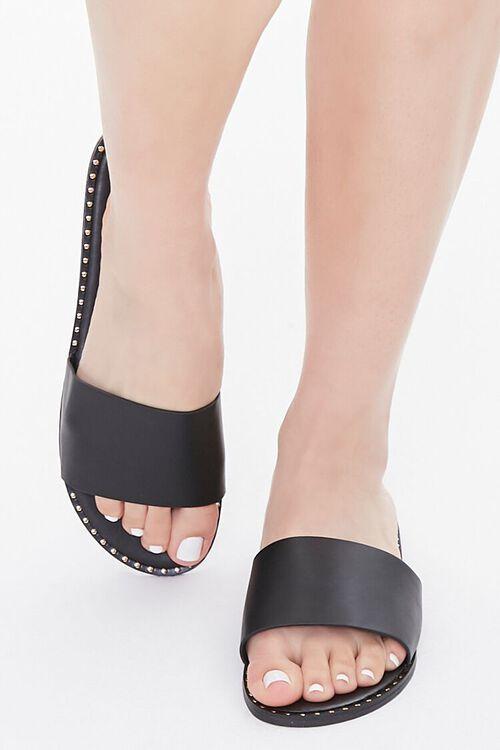 Studded Slip-On Sandals, image 4