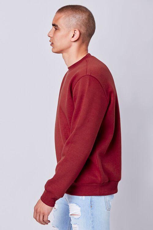 Fleece Crew Neck Sweatshirt, image 2