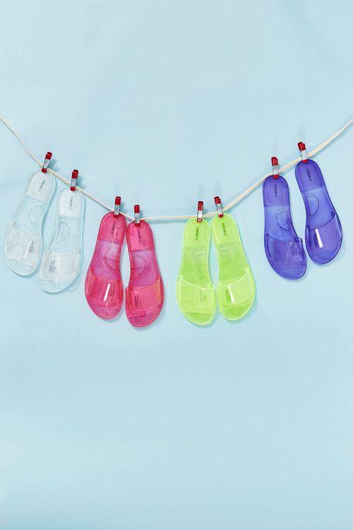 Semi-Transparent Jelly Sandals, image 1