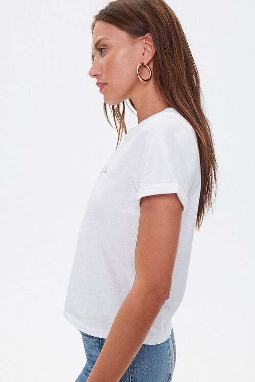 Embroidered Paris Graphic Tee, image 2