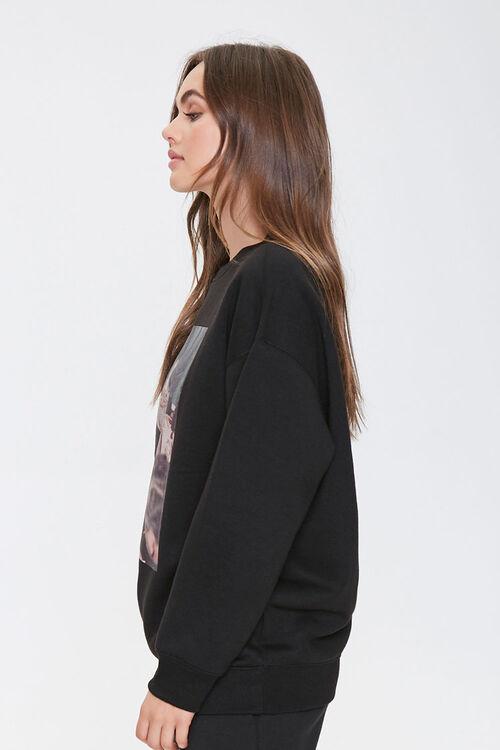 Fleece Marilyn Monroe Sweatshirt, image 2