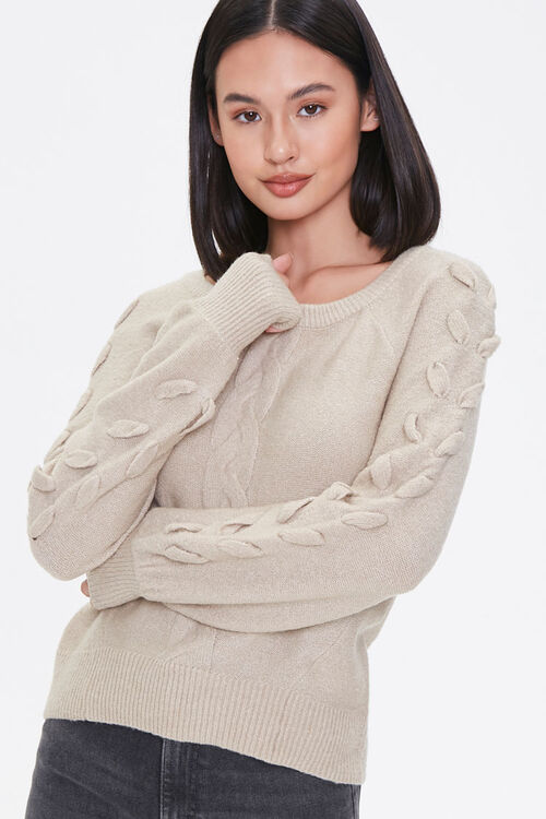Lace-Up Sleeve Sweater, image 5