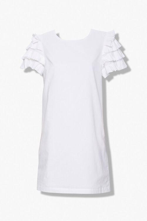 Ruffled Shift Dress, image 1