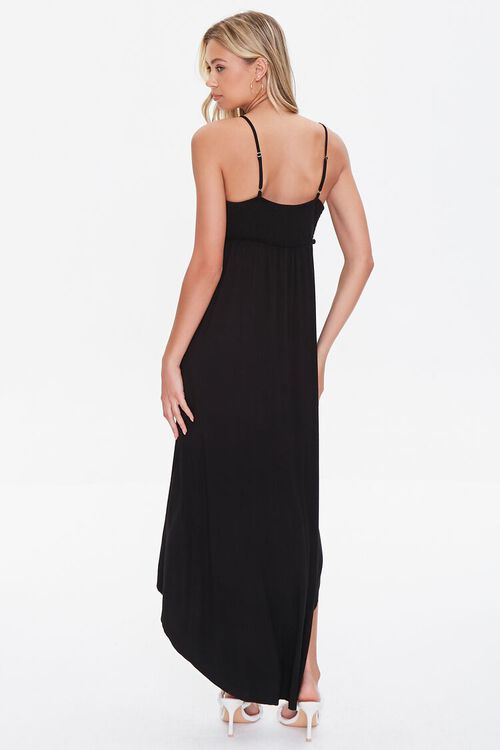 BLACK High-Low Empire Dress, image 3
