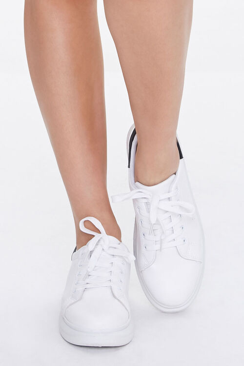 Lace-Up Platform Sneakers, image 4
