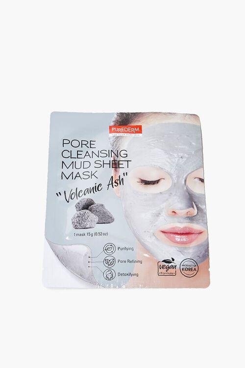 GREY Pore Cleansing Mud Sheet Mask, image 1