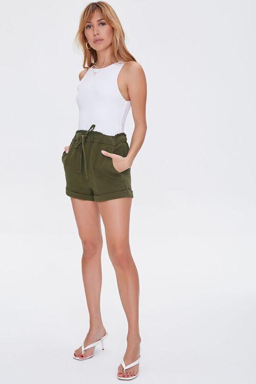 Paperbag Drawstring Shorts, image 5