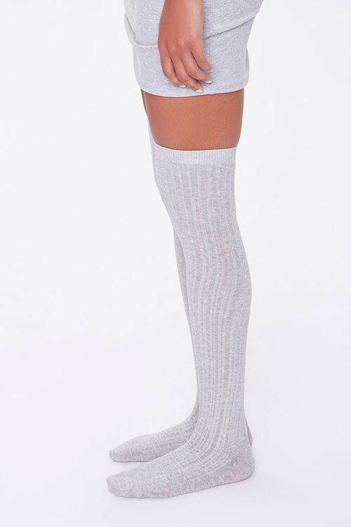 Ribbed Over-the-Knee Socks, image 2