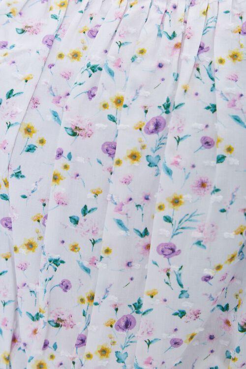 Plus Size Floral Tie-Strap Cropped Cami, image 5