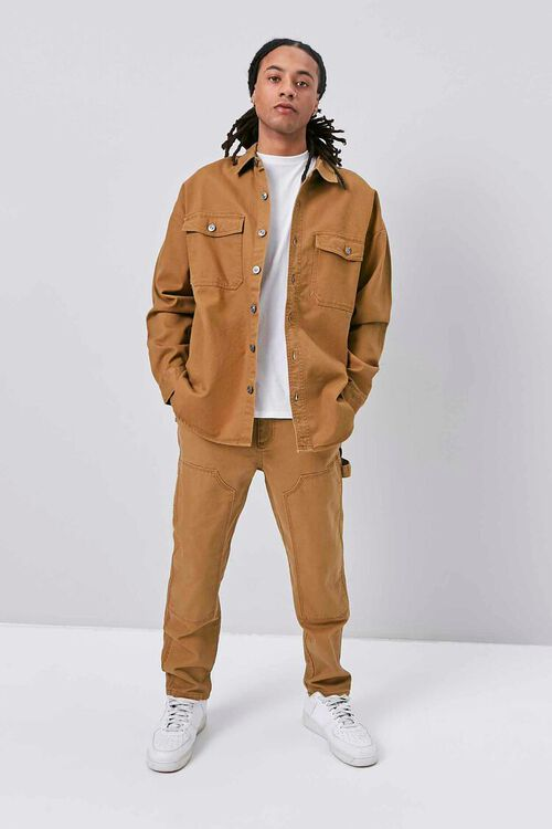 Buttoned Canvas Jacket, image 5