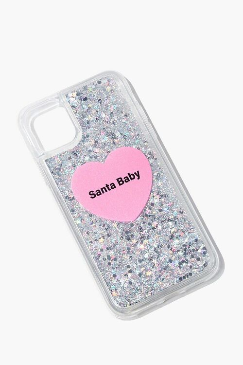 Santa Baby Glitter Case for iPhone 11, image 2