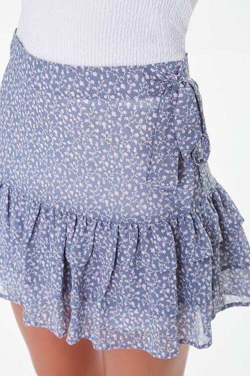 Floral Print Mini Skirt, image 6