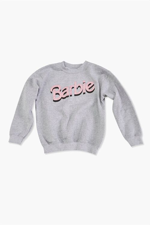 Girls Fleece Barbie™ Pullover (Kids), image 1