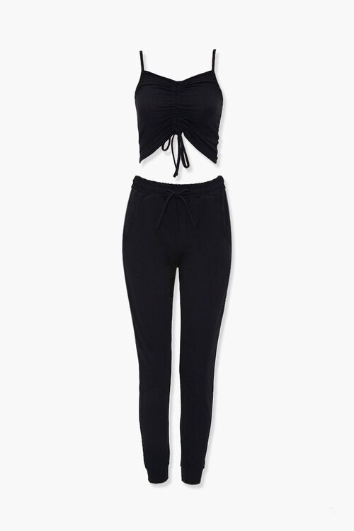 Cropped Cami & Joggers Set, image 6