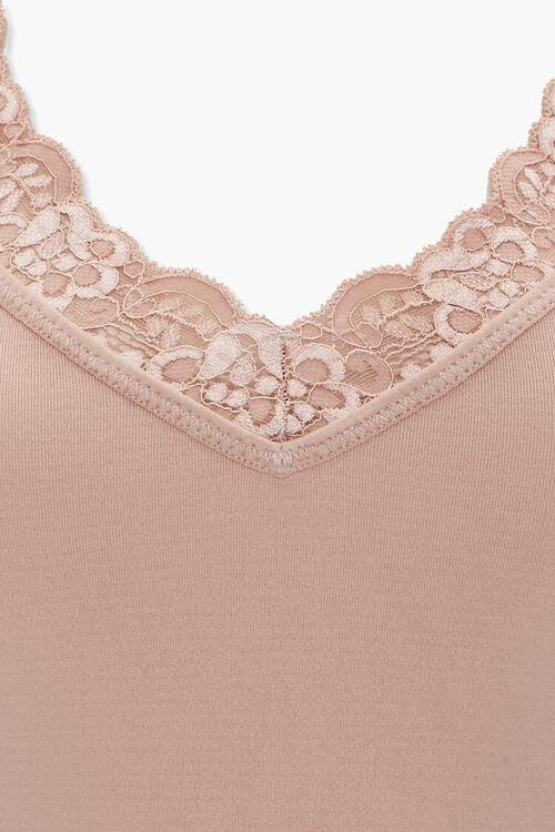 SAND Lace-Trim Lingerie Bodysuit, image 4