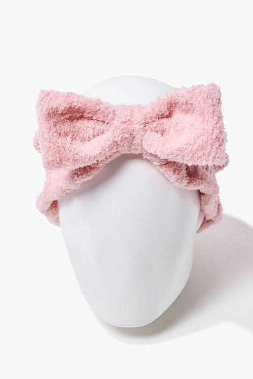 Terrycloth Bow Headwrap, image 1