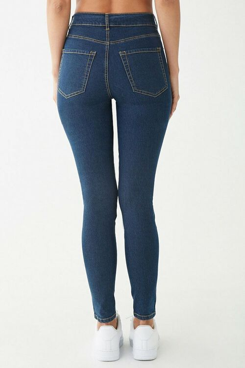 Stretch High-Waist Skinny Jeans, image 4