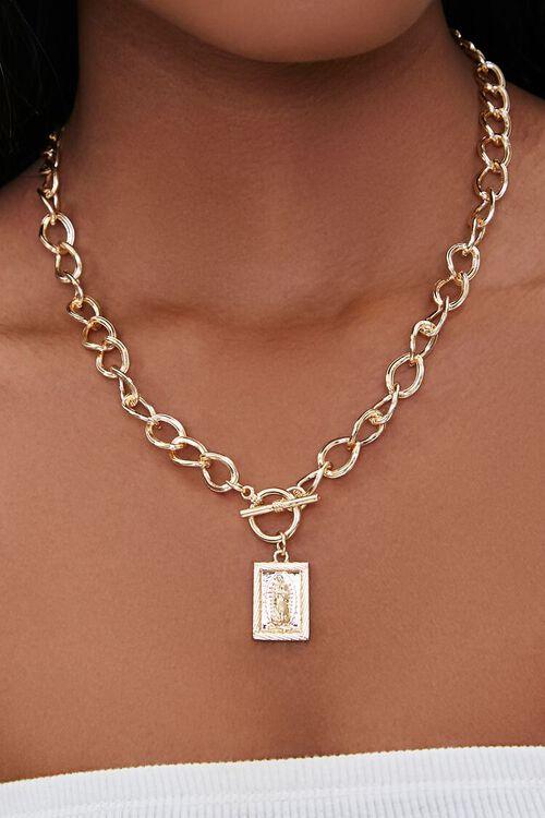 Iconograph Pendant Necklace, image 1