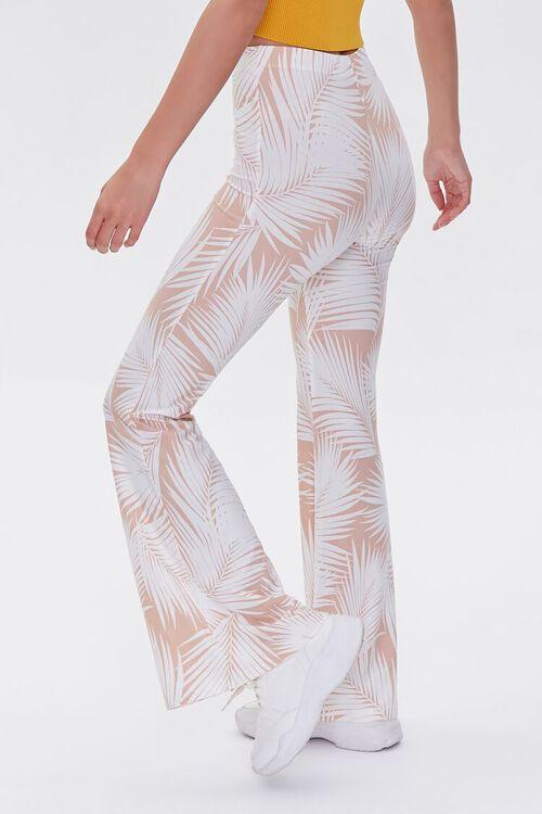 Jordyn Tropical Print Flare Pants, image 3