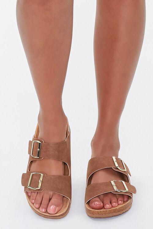 Buckled Platform Sandals, image 4