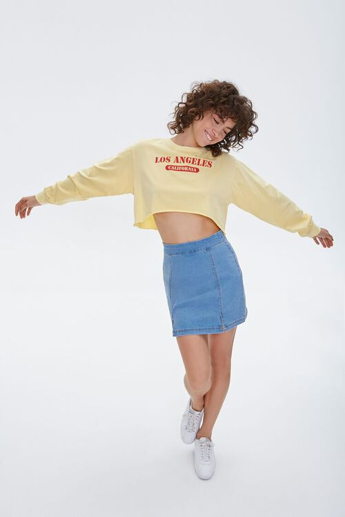 Los Angeles Cropped Graphic Tee, image 5
