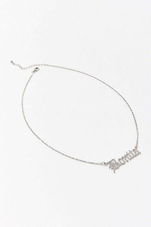SILVER Bonita Pendant Necklace, image 3