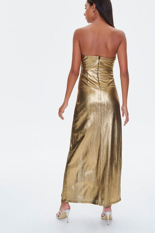 Metallic Maxi Dress, image 3