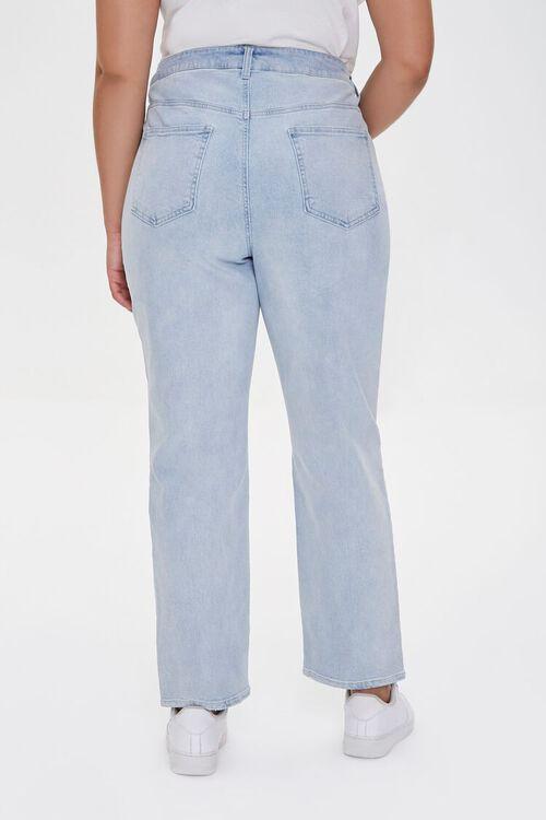 Plus Size Straight-Leg Jeans, image 4