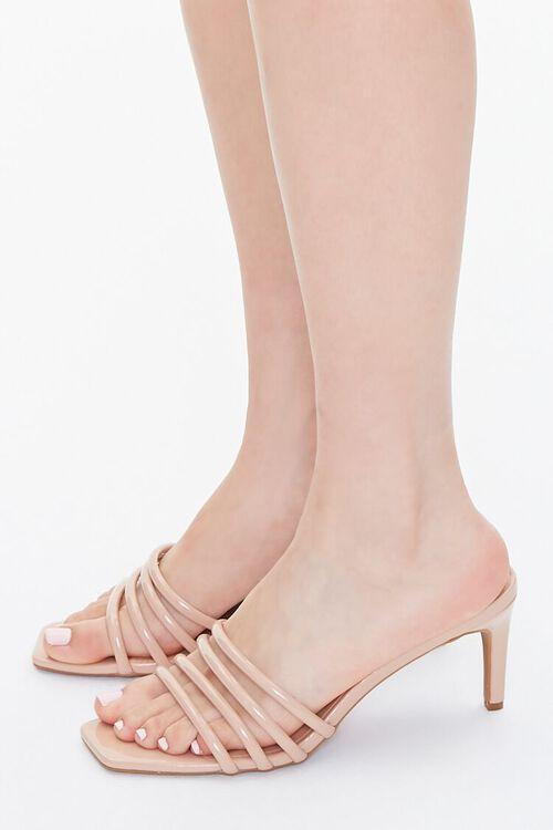 Strappy Slip-On Stiletto Heels, image 2