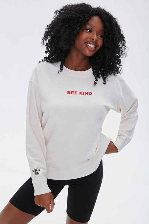 French Terry Bee Kind Pullover, image 2