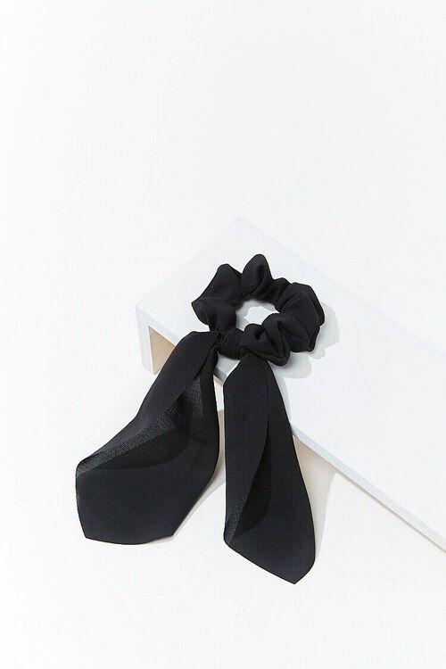 Ruffled Bow Scrunchie, image 2