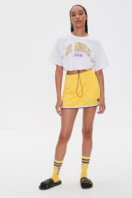 Los Angeles Lakers Cropped Tee, image 4