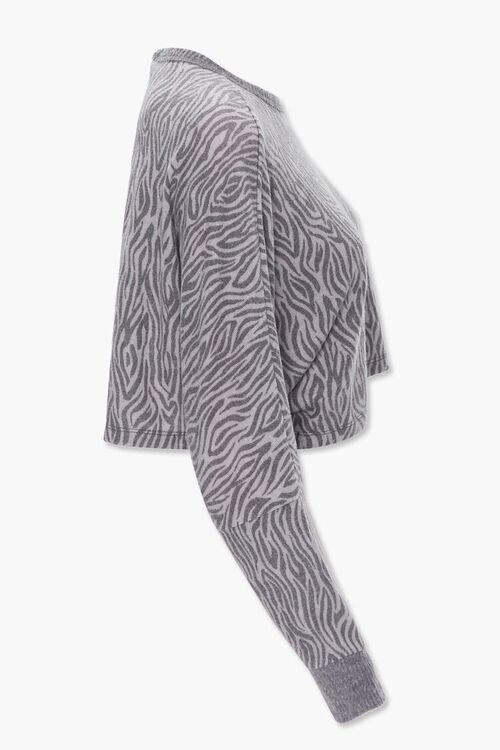 Tiger Stripe Print Pullover, image 2