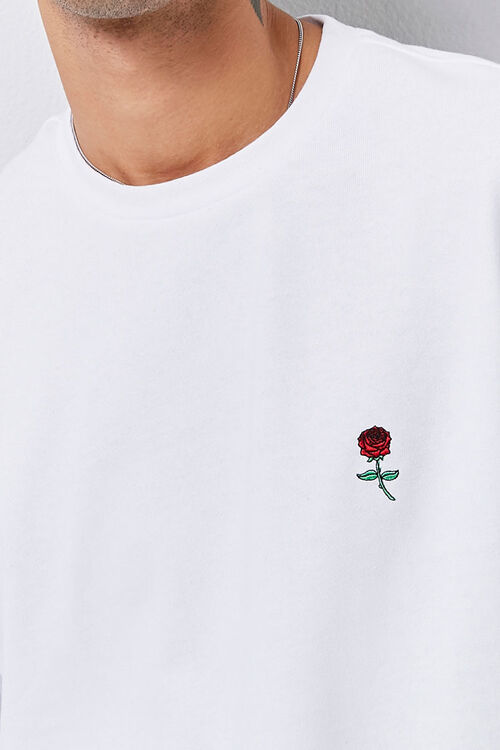 Embroidered Rose Sweatshirt, image 5
