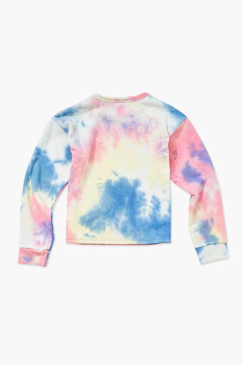 Girls Tie-Dye Sweatshirt (Kids), image 2