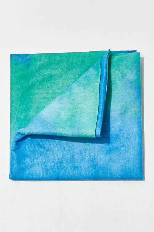 BLUE/MULTI Tie-Dye Wash Scarf, image 1