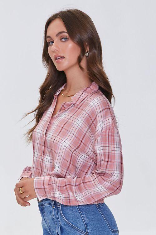 Boxy Plaid Shirt, image 2