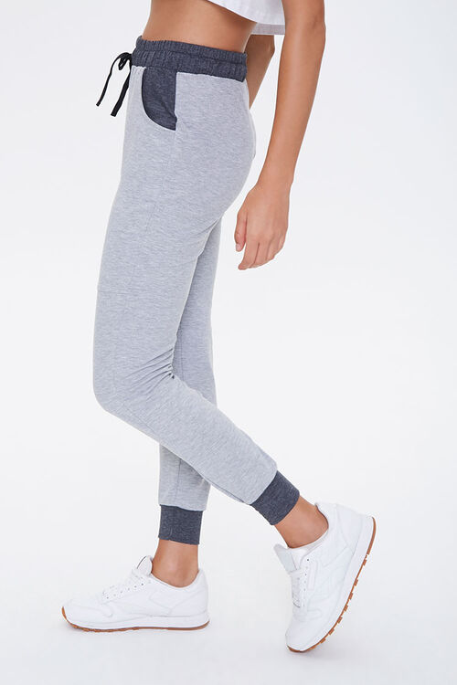 Active Heathered Knit Joggers, image 2