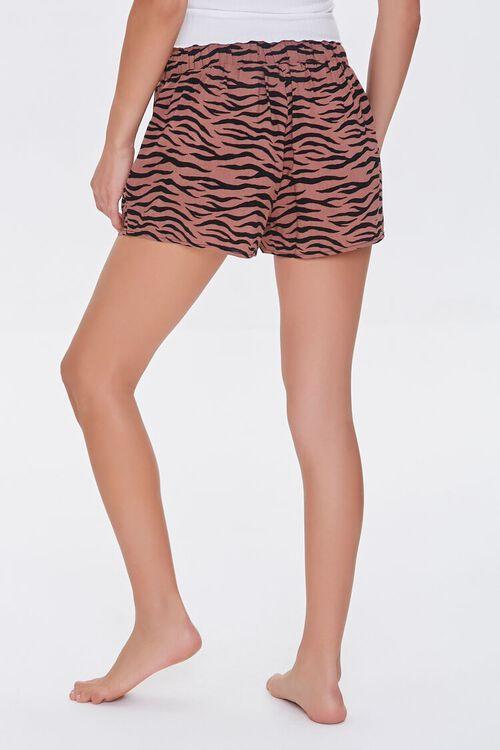 Tiger Striped Lounge Shorts, image 4