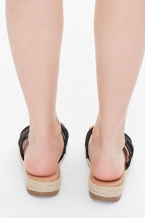Triple-Strap Espadrille Sandals, image 3